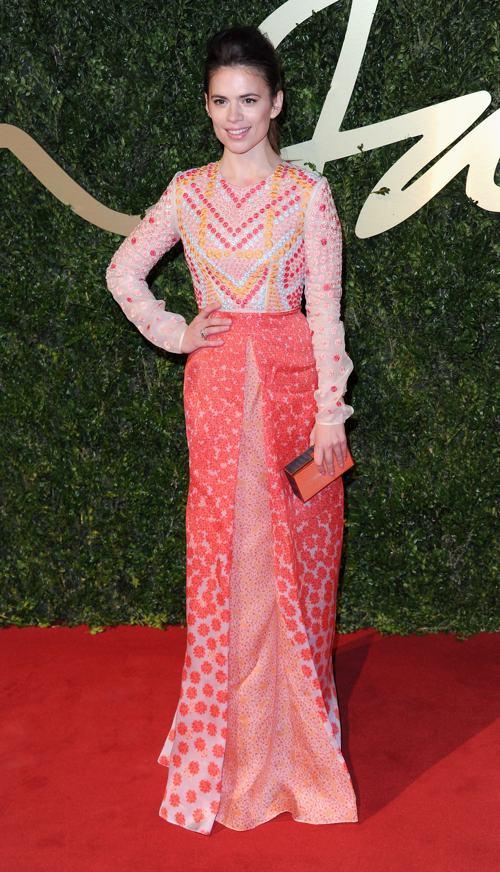 Актриса Хейли Этвелл на вручении премии British Fashion Awards 2013 в лондонском Колизее 2 декабря. Фото: Stuart C. Wilson/Getty Images