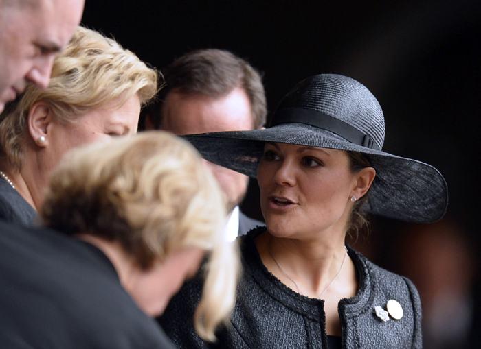 Кронпринцесса Швеции Виктория прибыла на официальную панихиду по Нельсону Манделе в Йоханнесбурге 10 декабря. Фото: ODD ANDERSEN/AFP/Getty Images