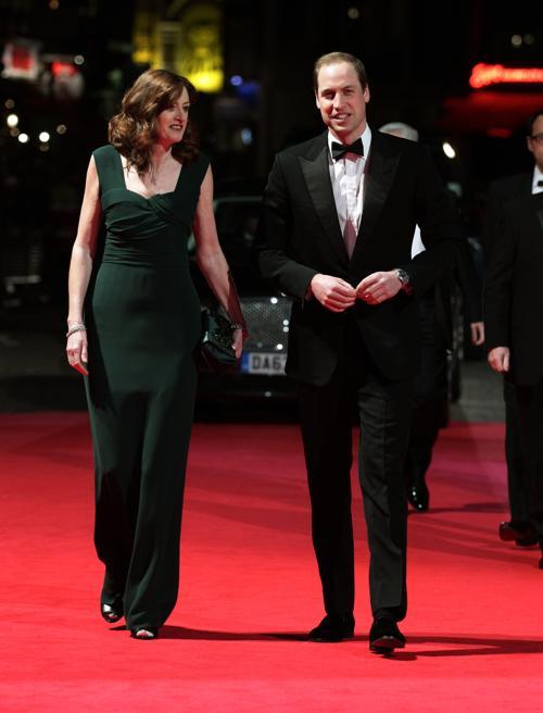 Британский принц Уильям прибыл в Лондон 16 февраля на церемонию вручения наград британской киноакадемии BAFTA  2014.Фото: Yui Mok/WPA Pool/Getty Images