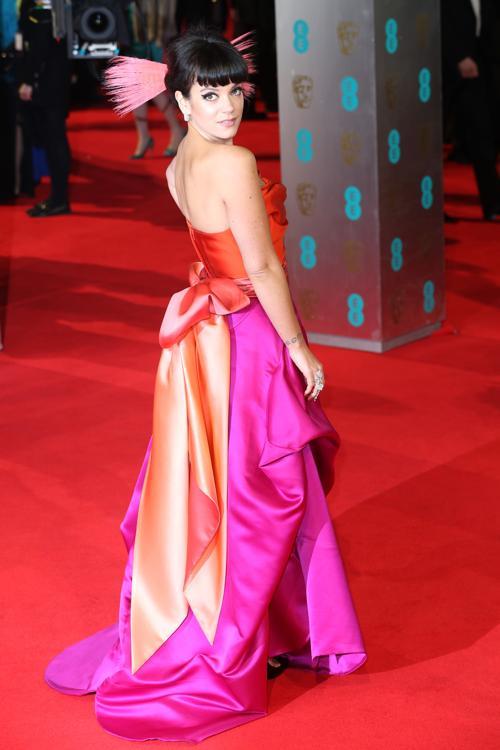 Лили Аллен прибыла в Лондон 16 февраля на церемонию вручения наград британской киноакадемии BAFTA  2014.Фото: Фото: Chris Jackson/Getty Images
