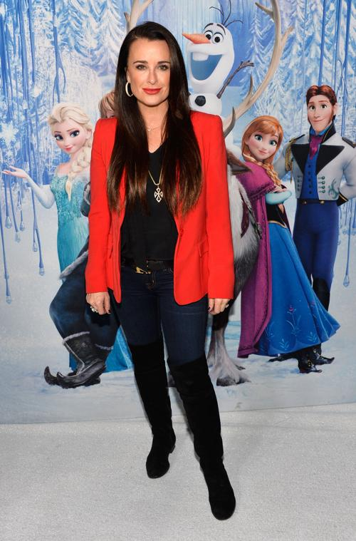 Телеведущая Кайл Ричардс на премьере мультфильма «Холодное сердце» от анимационной компании «Уолт Дисней» в Голливуде 19 ноября 2013 года. Фото: Frazer Harrison / Getty Images