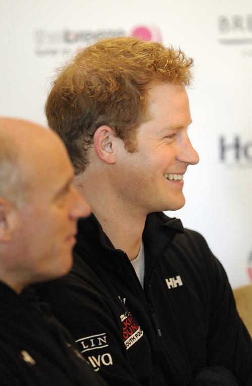 Принц Гарри на пресс-конференции 21 января по случаю возвращения принца Гарри и его команды военных ветеранов из экспедиции на Южный полюс. Фото: Stuart C. Wilson/Getty Images
