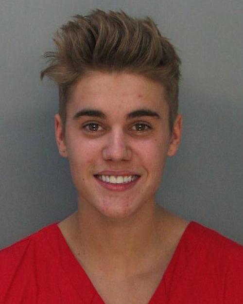 Джастин Бибер попал в полицейский участок 23 января 2014 года в Майями-Бич. Фото: Miami-Dade Police Department via Getty Images