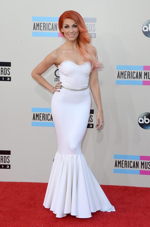 Певица Бонни МакКи прибыла 24 ноября 2013 года на вручение престижной американской премии в области музыки American Music Awards в Лос-Анджелесе. Фото: Jason Merritt/Getty Images