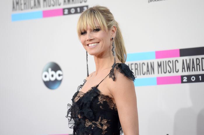 Актриса Хайди Клум прибыла 24 ноября 2013 года на вручение престижной американской премии в области музыки American Music Awards в Лос-Анджелесе. Фото: Jason Merritt/Getty Images