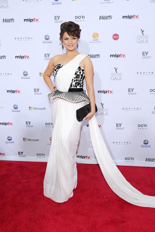 Ашка Горадия посетила вручение международной премии Эмми (International Emmy Awards) 25 ноября 2013 года в Нью-Йорке. Фото: Neilson Barnard/Getty Images