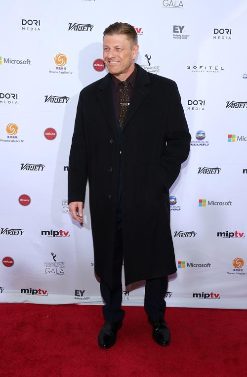 Шон Бин стал лауреатом международной премии Эмми (International Emmy Awards) 25 ноября 2013 года в Нью-Йорке. Фото: Neilson Barnard/Getty Images
