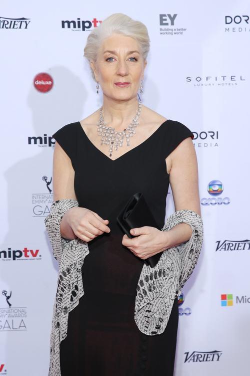 Лотта Тейле посетила вручение международной премии Эмми (International Emmy Awards) 25 ноября 2013 года в Нью-Йорке. Фото: Neilson Barnard/Getty Images