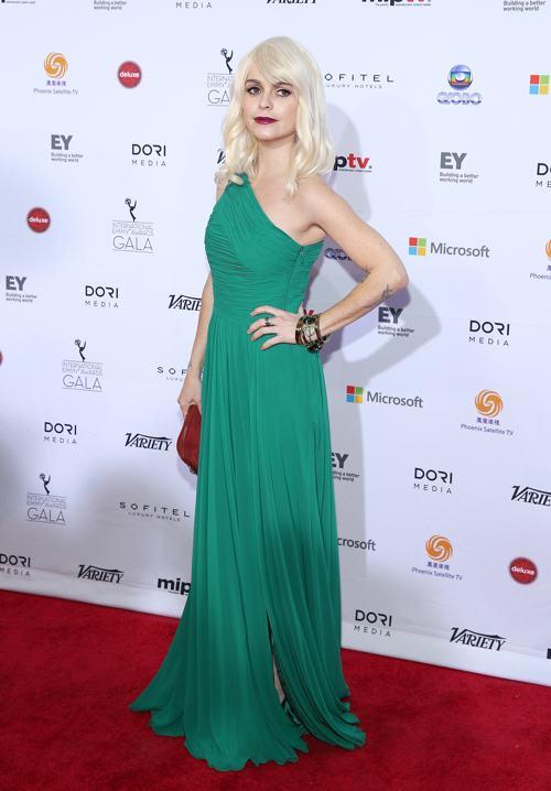 Террин Мэннинг посетила вручение международной премии Эмми (International Emmy Awards) 25 ноября 2013 года в Нью-Йорке. Фото: Neilson Barnard/Getty Images