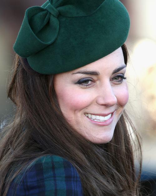Герцогиня Кембриджская Кэтрин посетила Сандрингем 25 декабря 2013 года. Фото: Chris Jackson / Getty Images