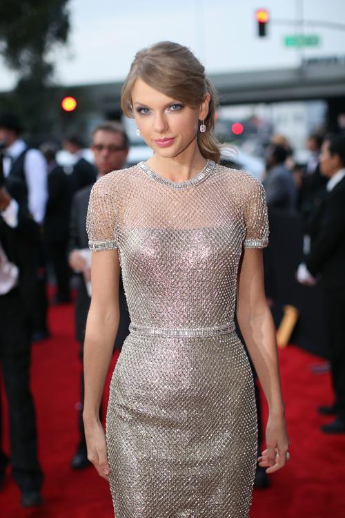 Тейлор Свифт посетила церемонию вручения 56-й музыкальной премии «Грэмми» 26 января 2014 года в Лос-Анджелесе (США). Фото: Christopher Polk/Getty Images for NARA
