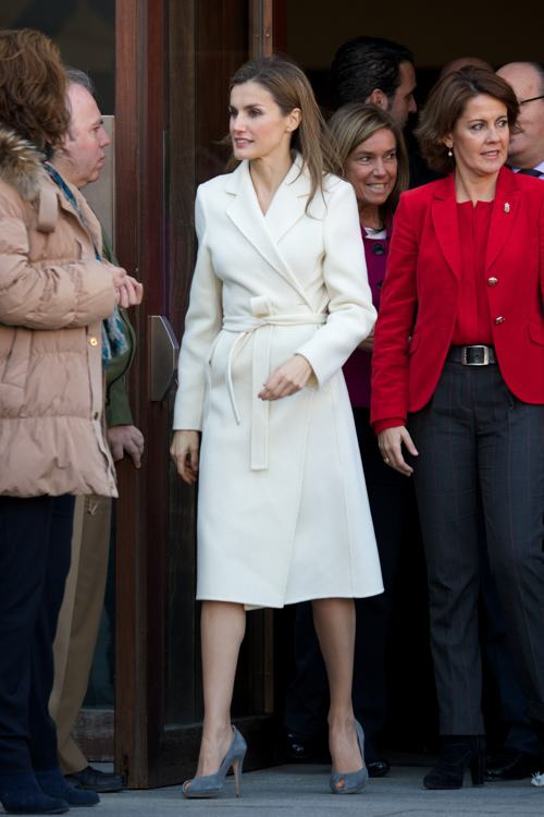 Принцесса Испании Летиция посетила 16-й Государственный конгресс волонтёров в испанском городе Памплона 27 ноября 2013 года. Фото: Carlos Alvarez/Getty Images
