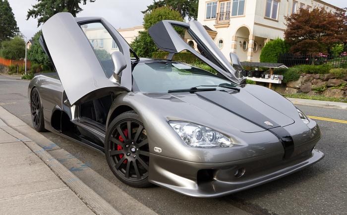 Суперкар Ultimate Aero EV – самый быстрый и экологичный электромобиль