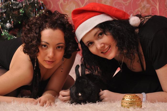 Новогодняя мода: в чем встречать год Белого кролика?