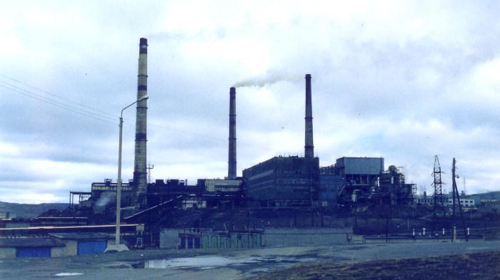 Норильск, завод, экология