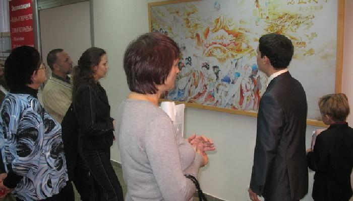 Международная выставка «Истина, Доброта, Терпение» впервые представлена минусинцам