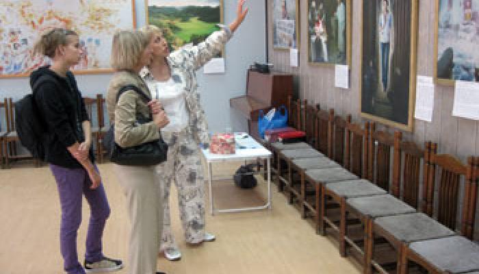 Открытие выставки «Истина Доброта Терпение» в Красноярске