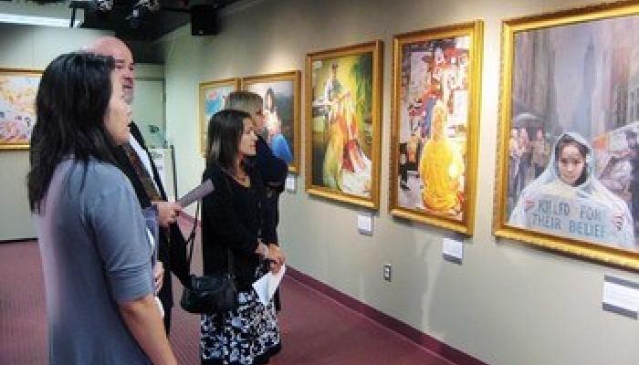 «Истина, Доброта, Терпение» в Красноярске — открытие художественной выставки