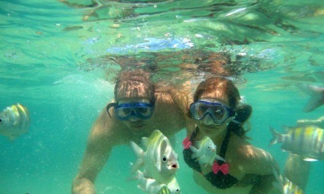 Отдых для любителей подводного плавания