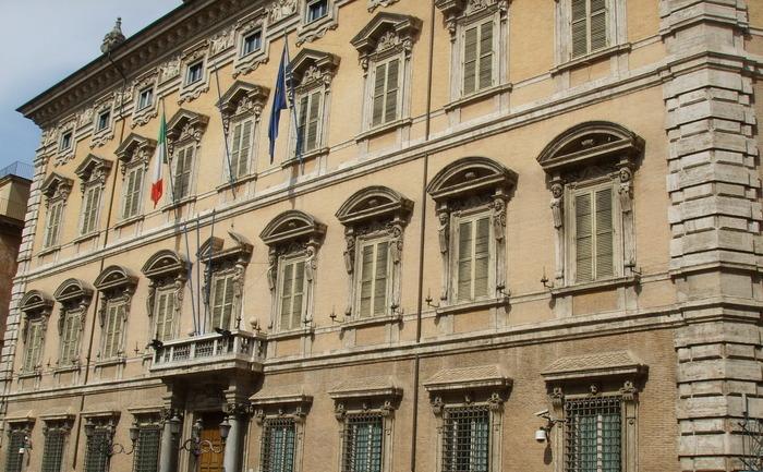 Палаццо Мадама в Риме. Фото: wikipedia