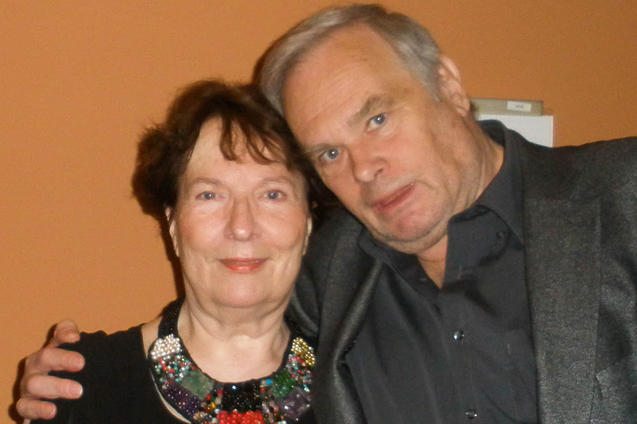 Армин Волтер и его жена Адельхеид Волтер, дилеры, специализирующиеся на предметах искусства, посетили концерт Shen Yun в Берлине. Performing Arts Фото: Yu Ping/Epoch Times