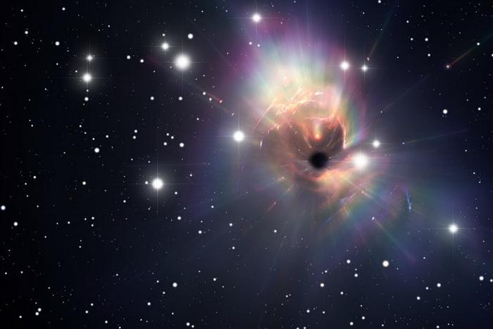 Чёрная дыра. Иллюстрация: Shutterstock*