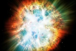 Большой взрыв — это взорвавшаяся четырёхмерная звезда? Иллюстрация: Shutterstock
