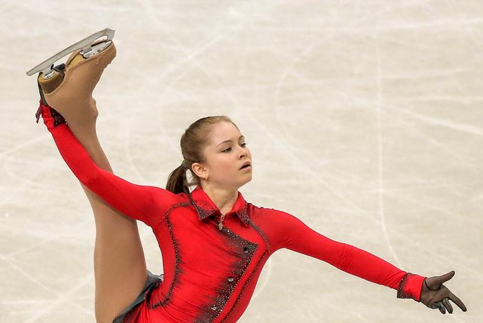 Юлия Липницкая выступила с произвольной программой на Чемпионате мира в Японии 29 марта 2014 года. Фото: Chris McGrath/Getty Images