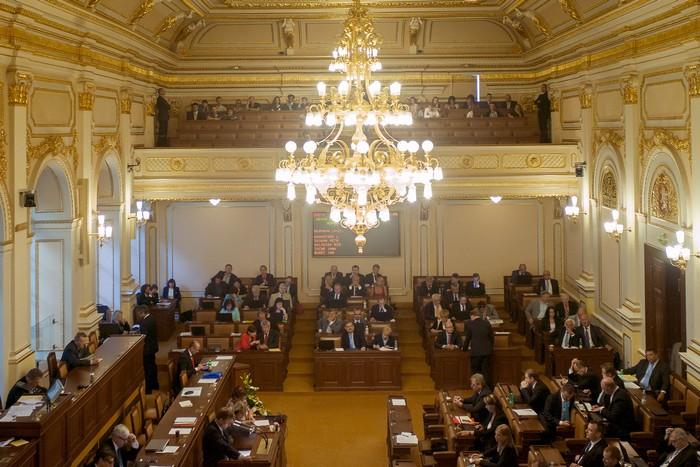 Парламент Чехии не поддержал введение санкций ЕС против России. Фото: MICHAL CIZEK/AFP/Getty Images