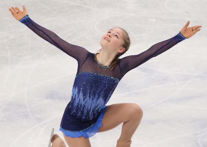 Юлия Липницкая исполнила короткую программу на Чемпионате мира в японском городе Сайтама 27 марта 2014 года. Фото: Atsushi Tomura/Getty Images