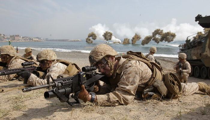 Войска Южной Кореи ответили огнём на учения КНДР в Жёлтом море