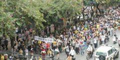 Многотысячный протест против химического производства прошёл в Китае