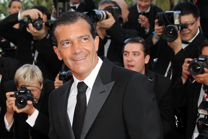 Spanish actor Antonio Banderas arrives f