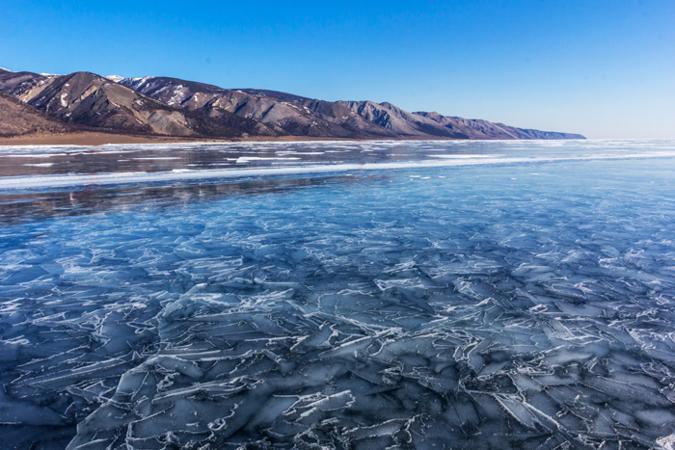 Остров Ольхон на Байкале, март 2014 года. Фото: Нина Апёнова/Великая Эпоха (The Epoch Times)