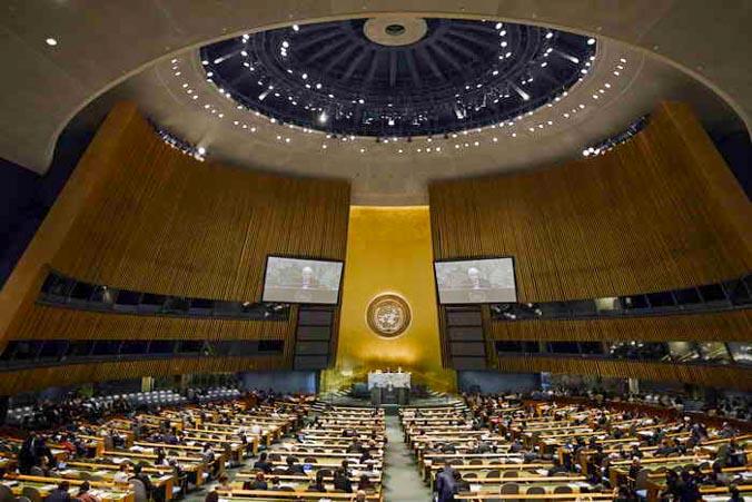 Россию не поддержали в Совбезе ООН. Фото: TIMOTHY A. CLARY/AFP/GettyImages