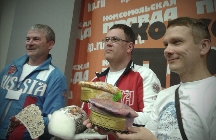 Валерий Смолюк, Олег Уваров, Альберт Хлюпин