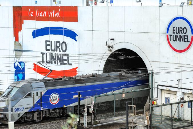 Железнодорожный тоннель под проливом Ла-Манш. Фото: PHILIPPE HUGUEN/AFP/Getty Images