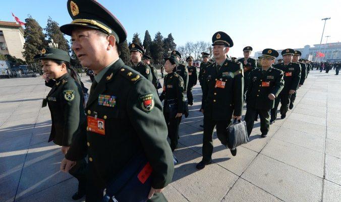 Китайских военных обязали изучать высказывания Си Цзиньпина