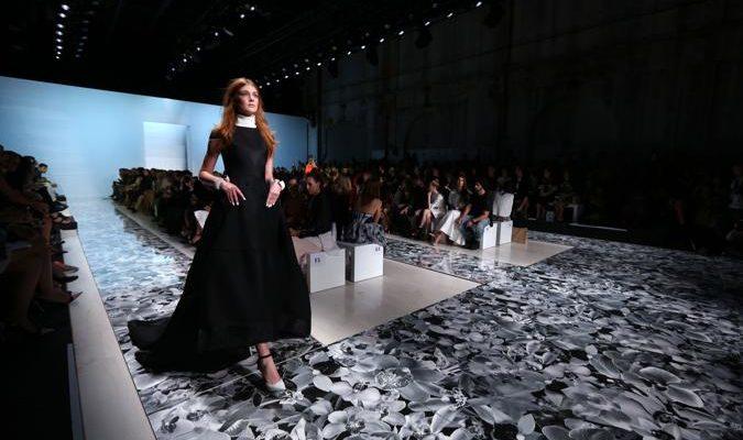 На австралийской Неделе моды показ провёл Maticevski