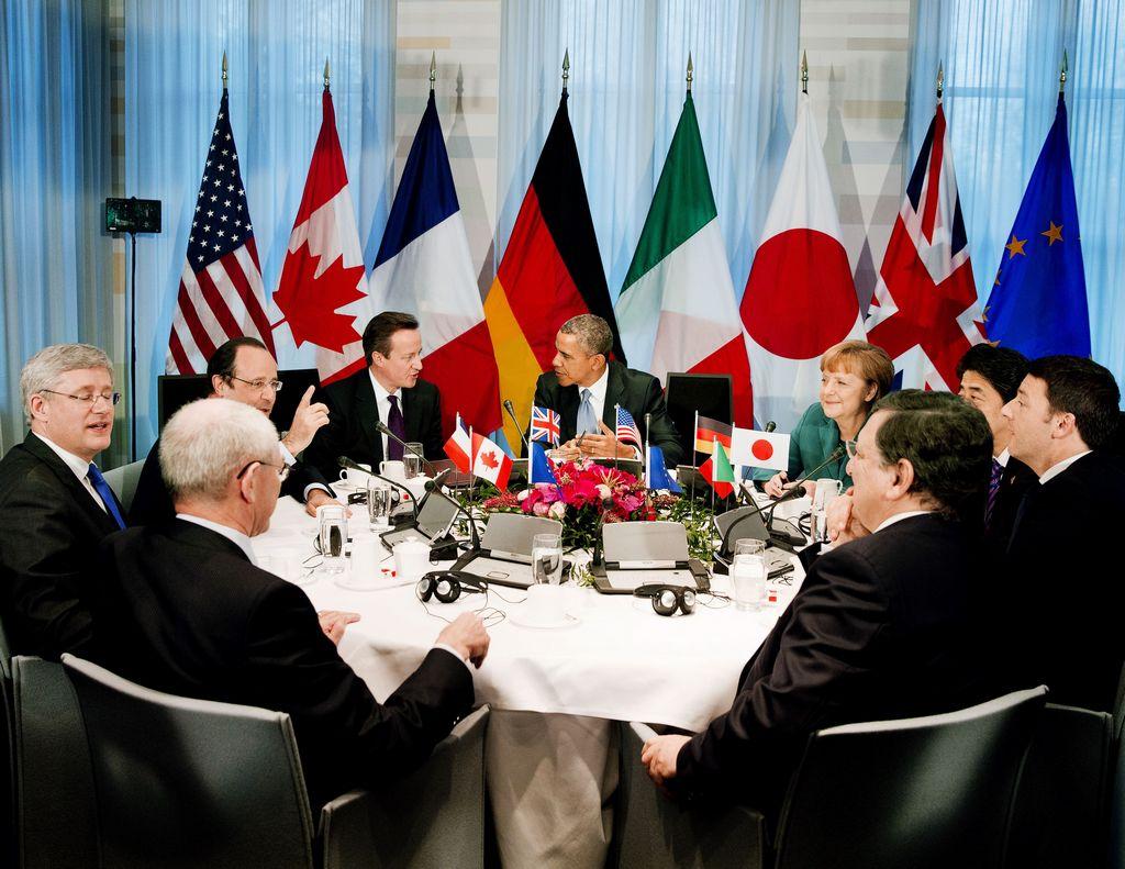 «Большая семёрка» против России введёт новые санкции. Фото: JERRY AMPEN/AFP/Getty Images