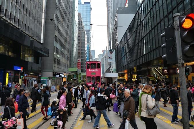 Центральный деловой район Гонконга, расположенный на северном берегу острова Гонконг. Здесь расположены генеральные консульства многих стран и штаб-квартиры транснациональных корпораций. Фото: Epoch Times