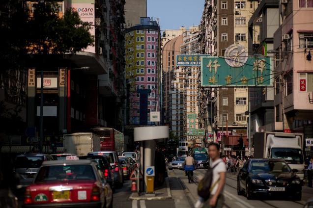 Даже за красивым фасадом Гонконга бушует неослабевающая борьба за власть в коммунистической партии Китая. Фото: PHILIPPE LOPEZ/AFP/Getty Images
