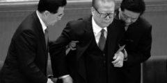 Из последних сил: китайский экс-диктатор Цзян Цзэминь показался на публике
