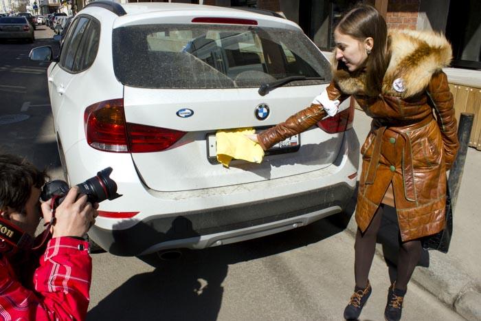 В Москве ужесточат борьбу с закрытыми автомобильными номерами