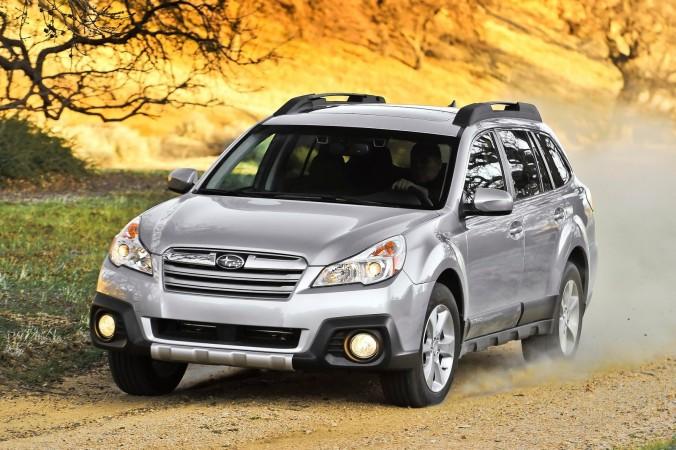 Subaru Outback 2014 года. Фото: NetCarShow.com