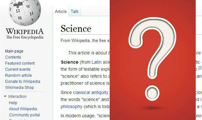 Можно ли доверять научным статьям из Википедии?
