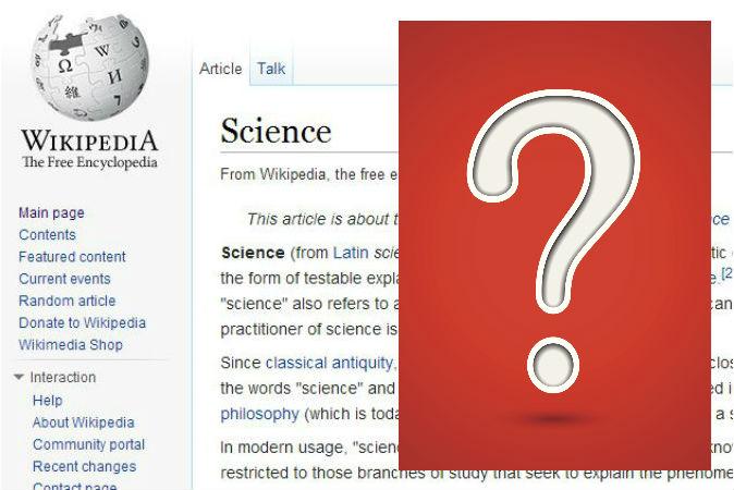 Редакторы Википедии обладают большим влиянием на восприятие читателей. А вы доверяете им? Screenshot/Wikipedia.com