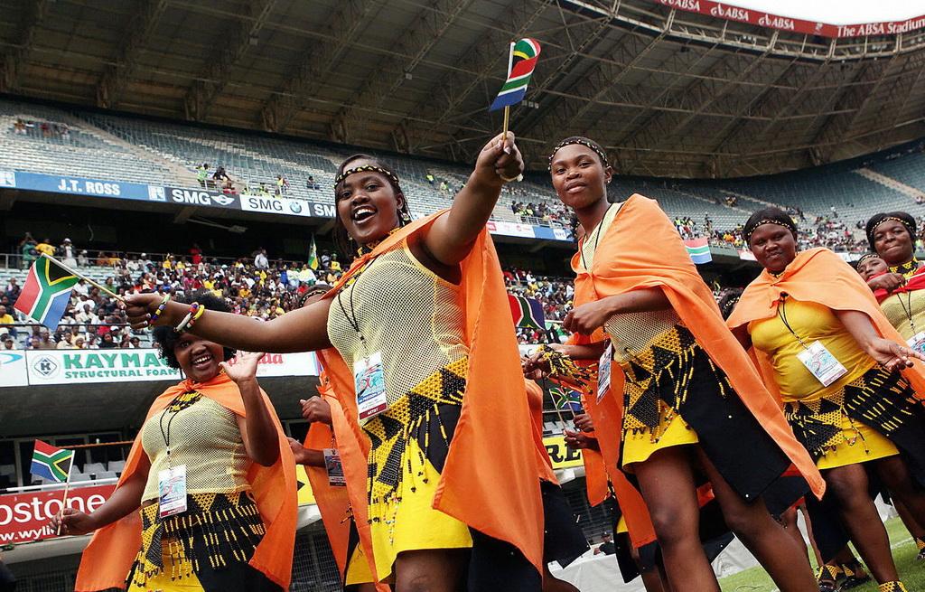 В ЮАР празднуют День свободы. Фото: RAJESH JANTILAL/AFP/Getty Images
