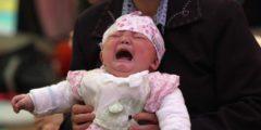 В Японии прошёл фестиваль детского плача