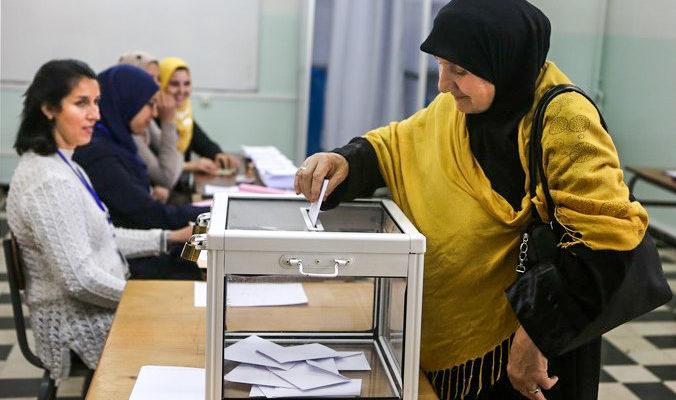 В Алжире в день выборов президента прошли акции протеста